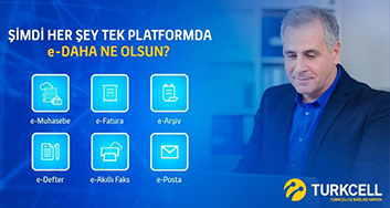 Turkcell E-Şirket meets all business software needs of enterprises from a single platform