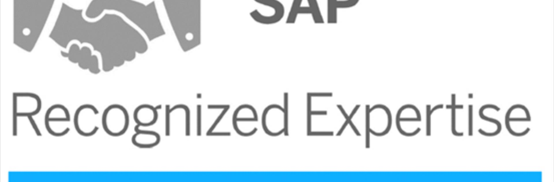 Our SAP Recognized Expertise Certificates