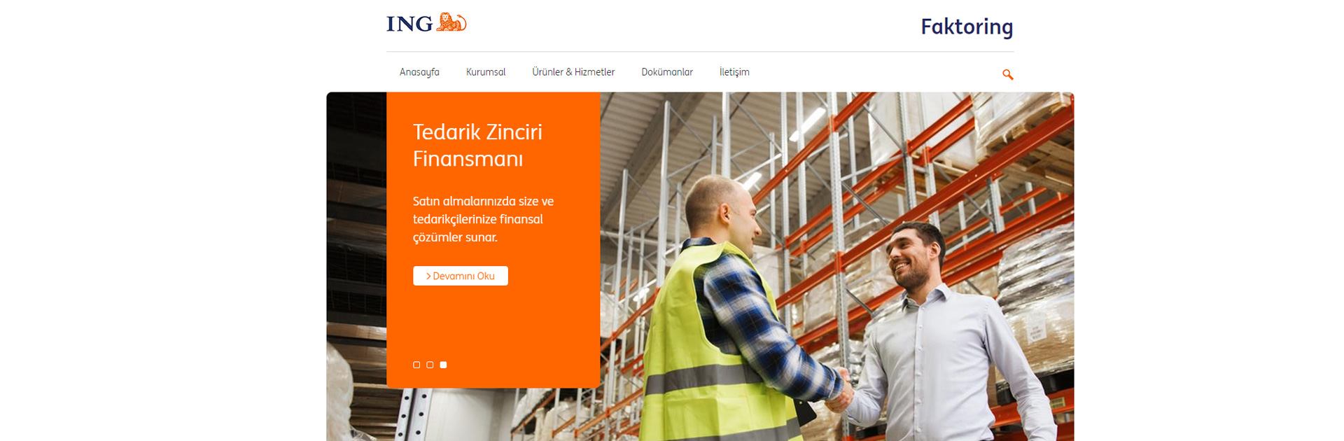 ING Faktoring's Corporate Website Taken Live