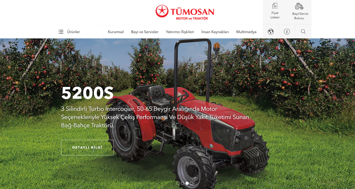 Turkey's Pioneer Tractor and Diesel Engineer Manufacturer TÜMOSAN has attained its new shape!